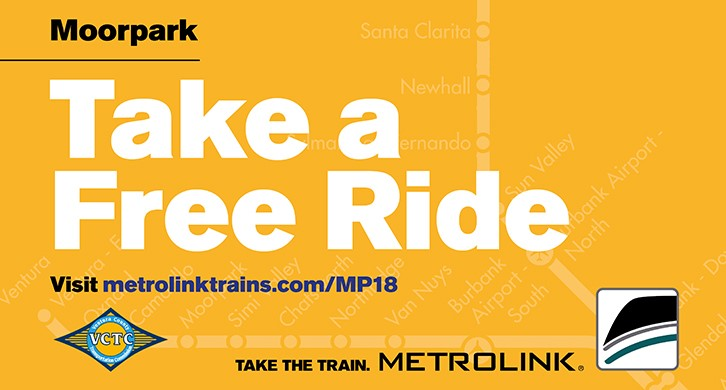 Free Metrolink Ticket Offer for Moorpark Residents