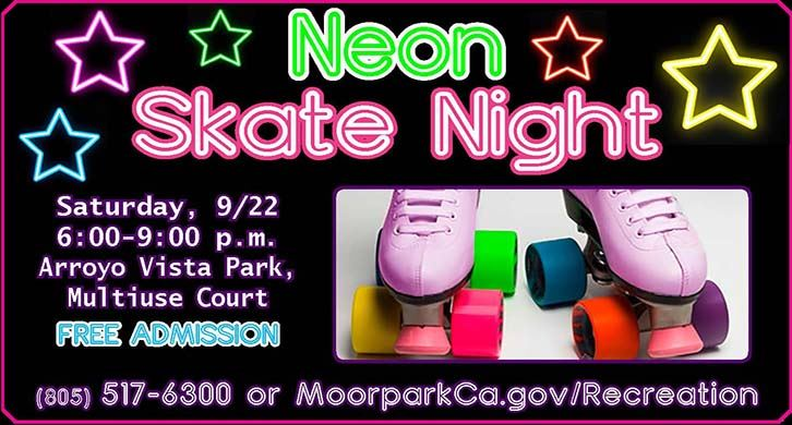 Join us for Neon Skate Night on September 22