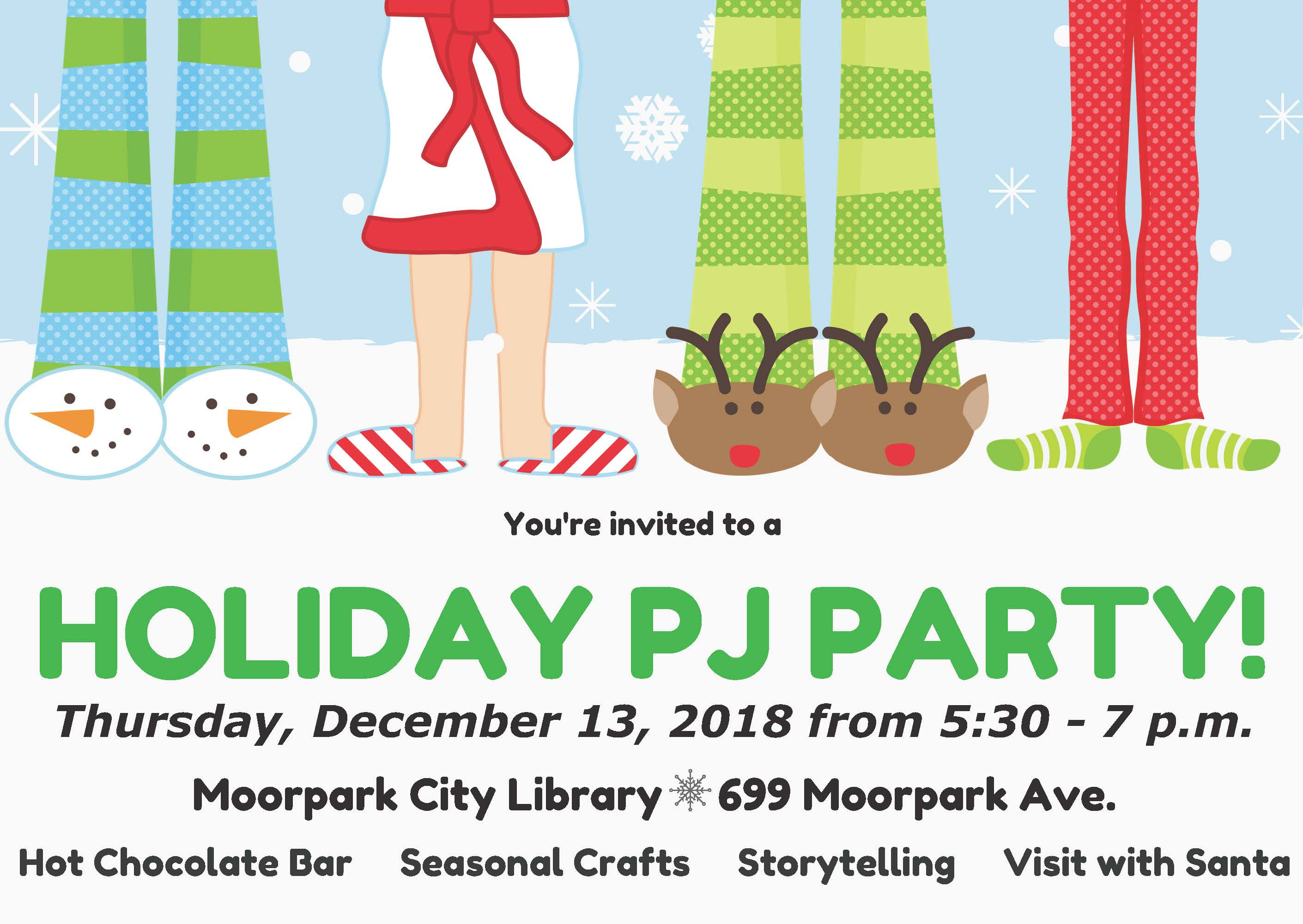 Holiday PJ Party 2018