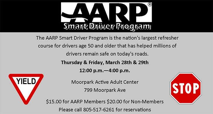 AARP Smart Driver Training at the Active Adult Center