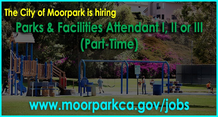 Hiring a Part time Parks and Facilities Attendant I, II or III