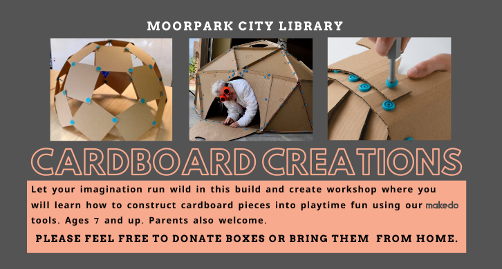 Cardboard Creation library event