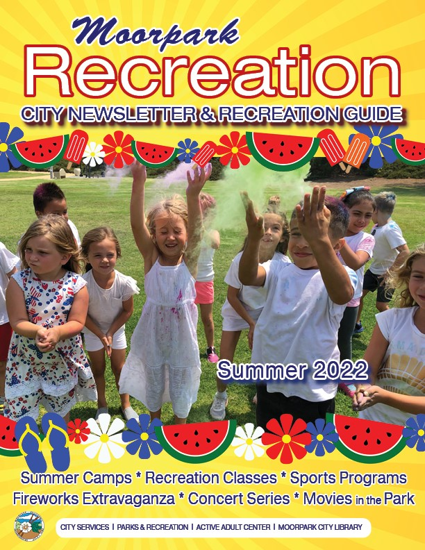 Recreation Guide Summer 2020 Cover Opens in new window