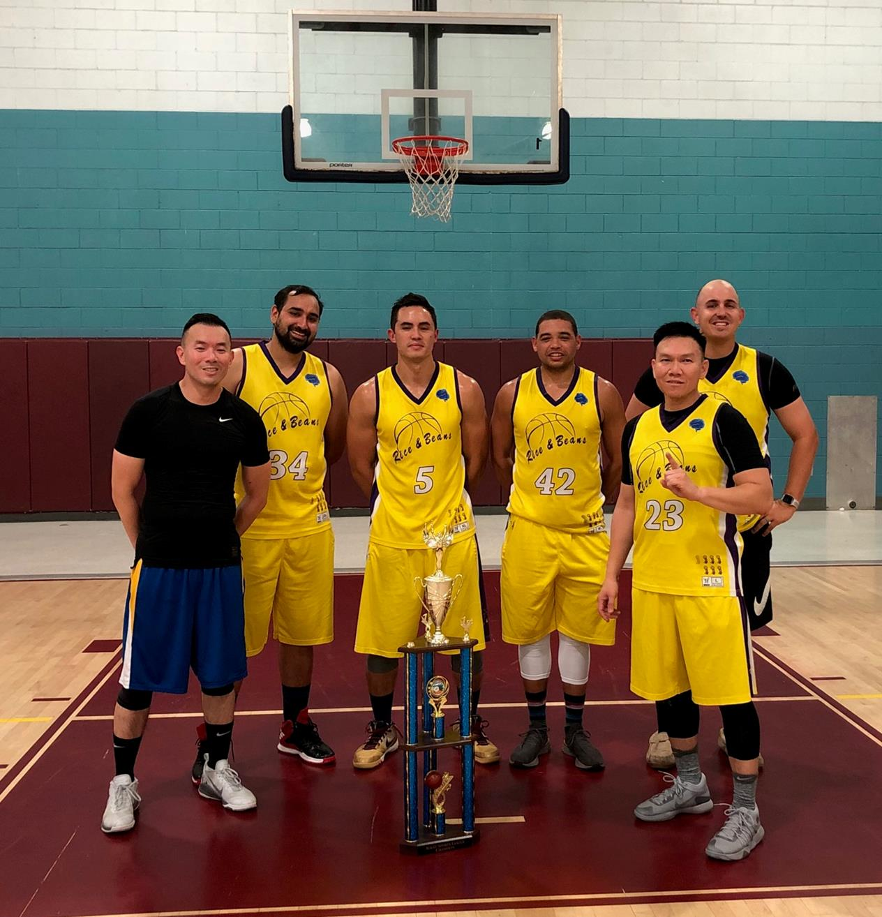 Adult Basketball, Summer 2019 - Monday Champions