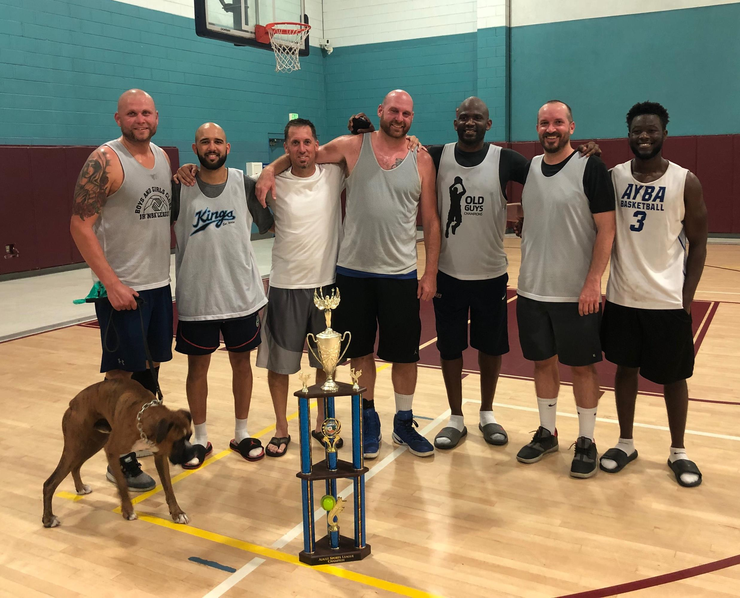 Adult Basketball, Summer 2019 - Thursday Champions