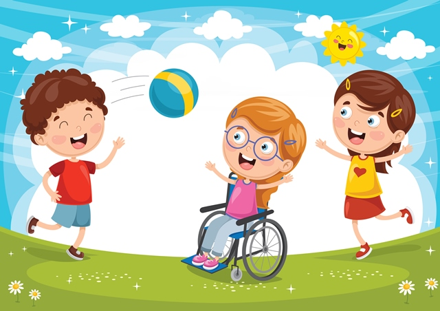 Inclusive Play ClipArt