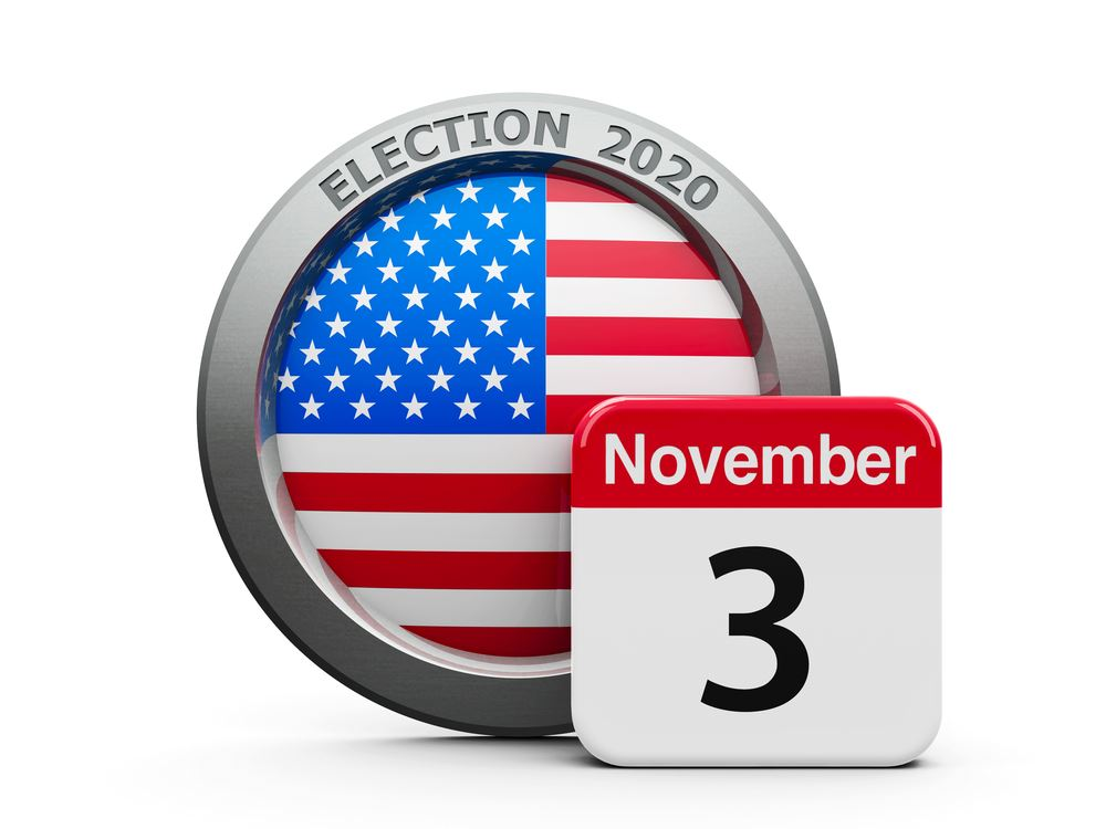 2020 Election Day is November 3