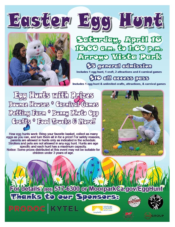 Egg Hunt 2019 Flyer Opens in new window