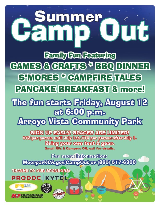 camp out flyer 2019 Opens in new window